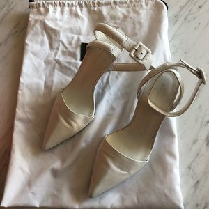 Alexander Wang White Pumps
